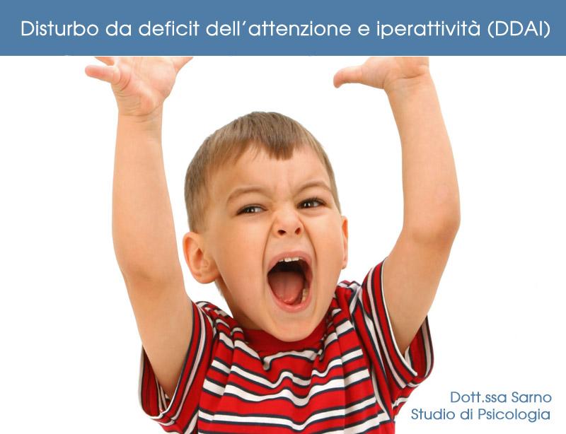 Bambini iperattivi Padova. Disturbo da deficit dell'attenzione e iperattività